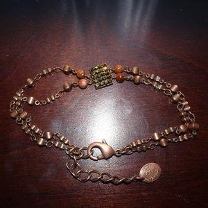 Jacqueline Singh Paris Copper Dainty Bracelet